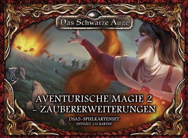 DSA 5 - Spielkartenset Aventurische Magie 2 Zaubererweiterungen