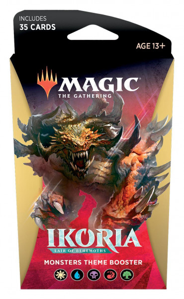 Magic: Ikoria: Lair of Behemoths Theme Boosters All 5 Color