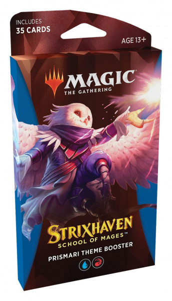 Magic: Strixhaven: School of Mages Themen Booster blue engl.
