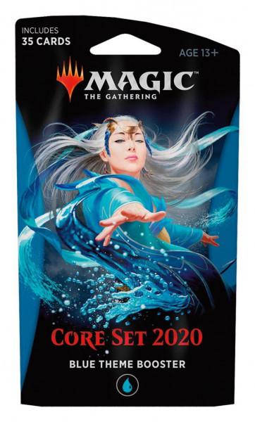 Magic: Core Set 2020 Theme Boosters Blau