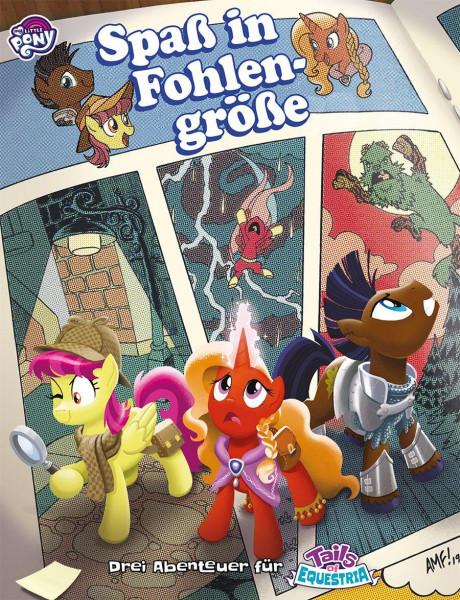My little Pony - Tails of Equestria: Spaß in Fohlengröße