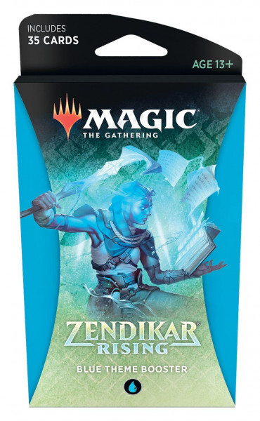 Magic: Zendikar Rising Themen Booster blue
