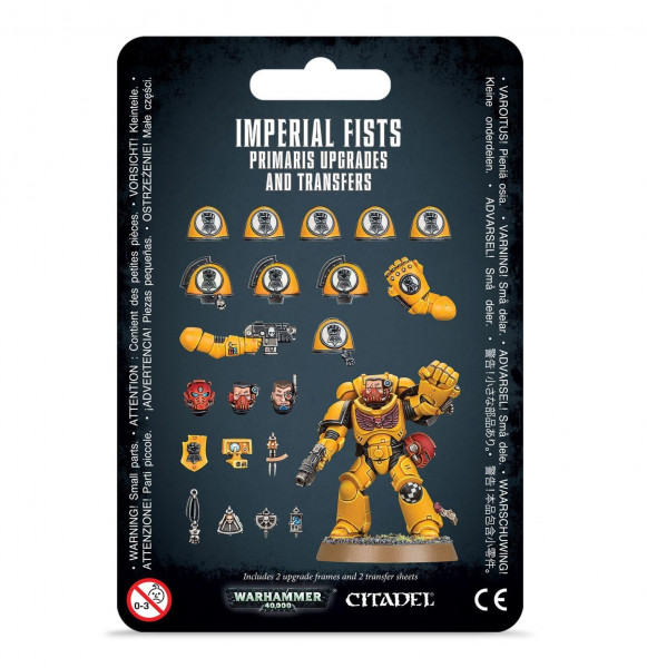 Imperial Fists Primaris Upgrades & Transfers