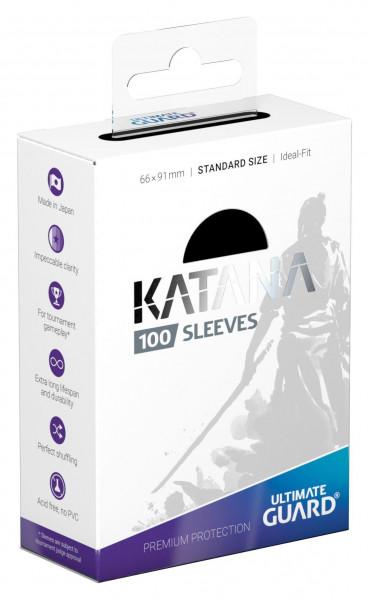 Ultimate Guard Katana Sleeves Standardgröße Schwarz (100)