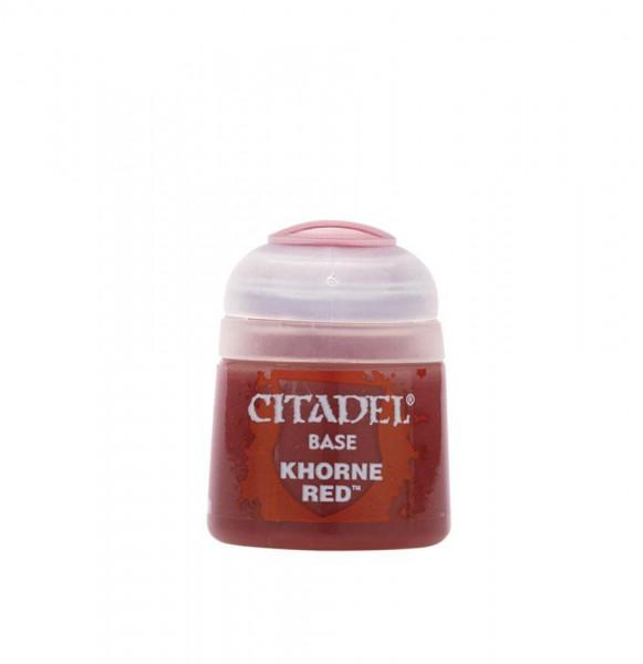 Farben Base: Khorne Red