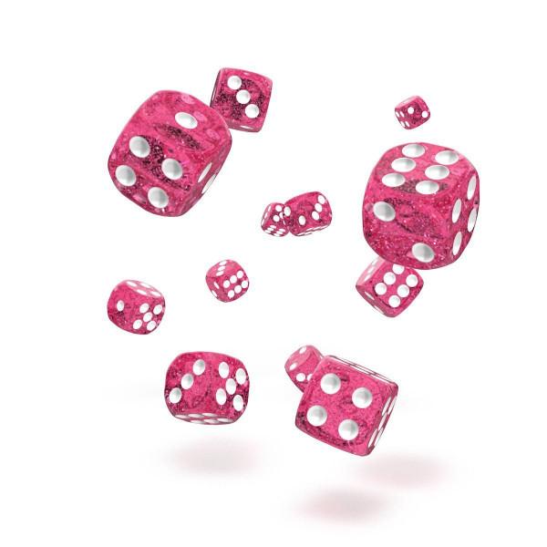 Oakie Doakie Dice D6 Dice 12 mm Speckled - Pink (36)