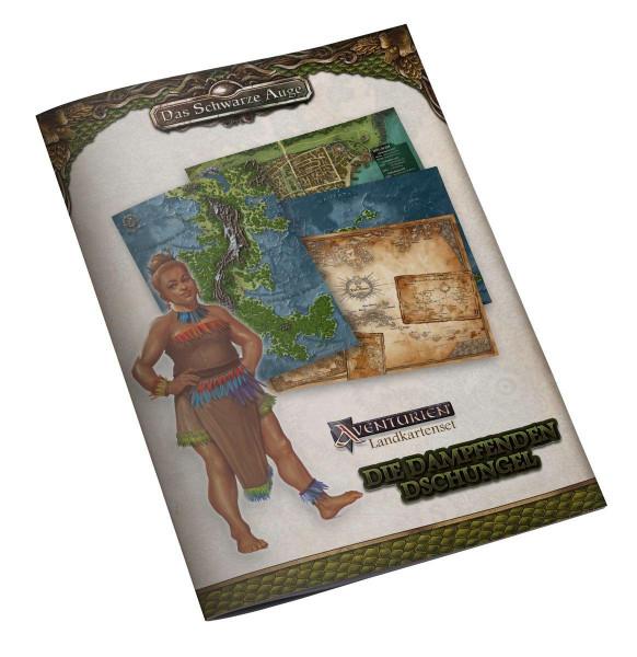 DSA 5 - Landkartenset Die Dampfenden Dschungel
