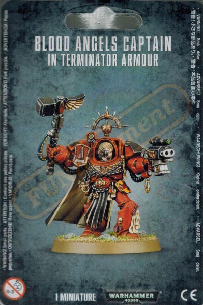 Blood Angels: Captain in Terminator Armour