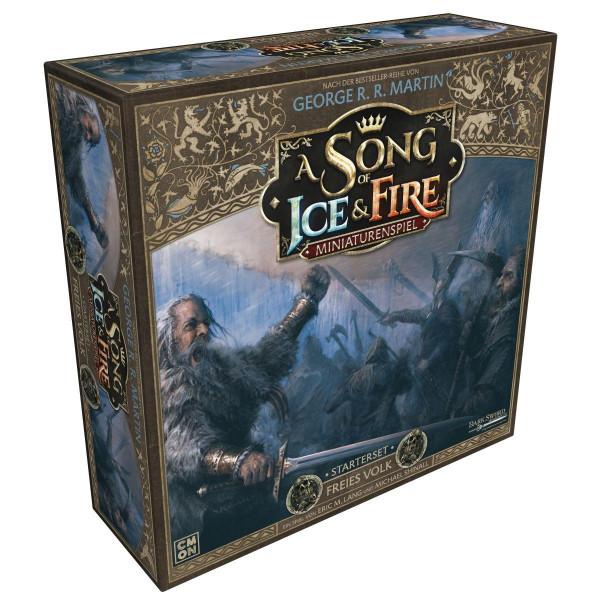 A Song of Ice & Fire Miniaturenspiel - Freies Volk - Starter-Set
