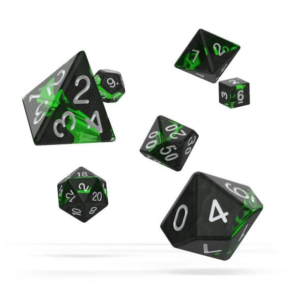 Oakie Doakie Dice RPG Set Enclave - Emerald (7)