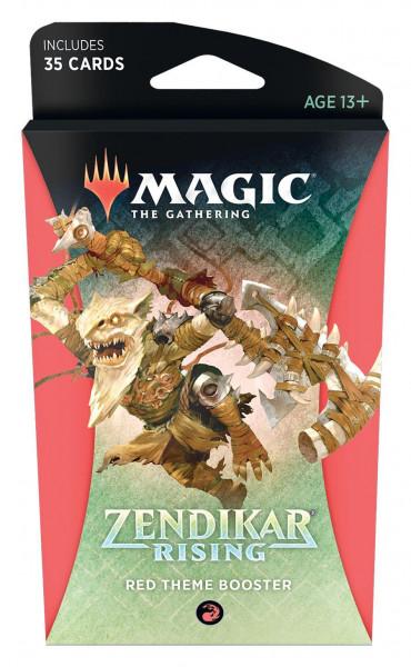 Magic: Zendikar Rising Themen Booster red
