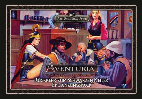 Aventuria Kartenspiel - Rückkehr zum schwarzen Keiler