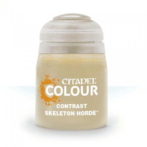 Farben Contrast: Skeleton Horde