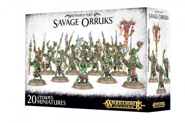 Bonesplitterz Savage Orcs