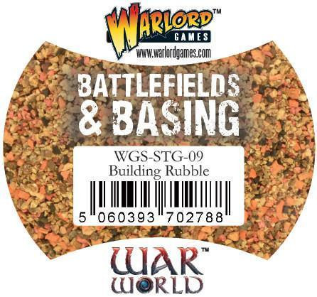 Warlord Games Battlefields & Basing: Building Rubble