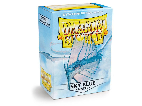 Dragon Shield Deck Protector Matte Skyblue
