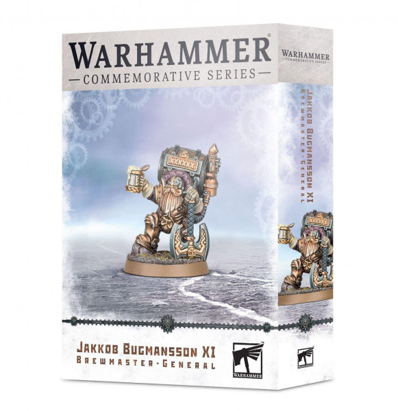 Warhammer Age of Sigmar Jakkob Bugmansson XI Brewmaster General
