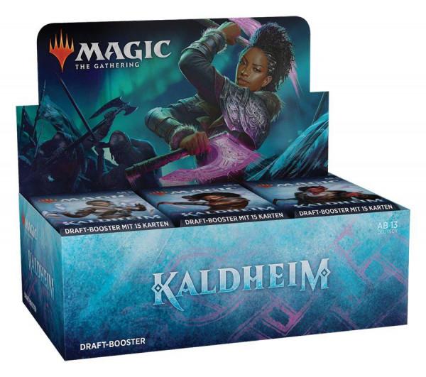 Magic: Kaldheim Draft-Booster Display (36) deutsch