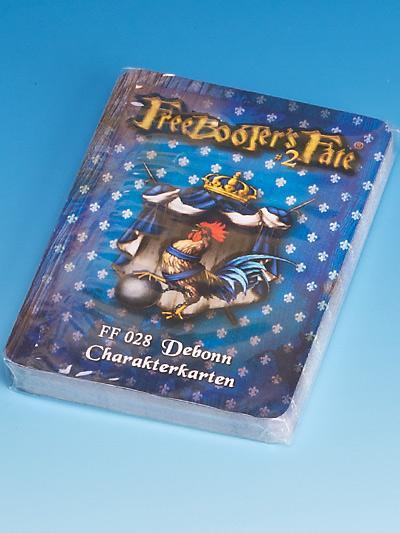 Freebooter's Fate Debonn Charakterkarten #2