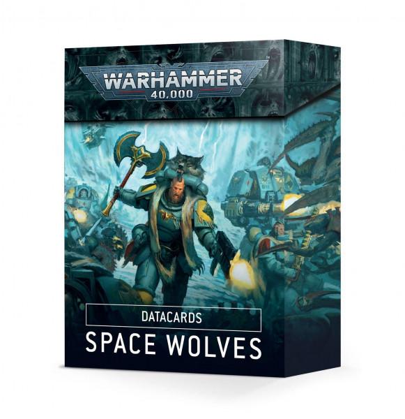 Warhammer 40.000 Datakarten - Space Wolves