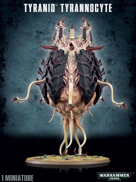 Tyranid Tyrannocyte / Sporecyst & Mucolid Spore