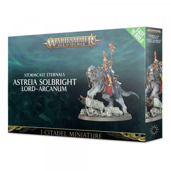 Easy to Build Stormcast Eternals Astreia Solbright: Lord-Arcanum