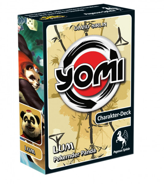 Yomi Einzeldeck Lum - Pokernder Panda