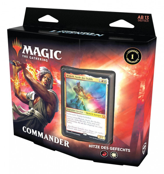 Magic: Commander Legenden Commander Deck - Hitze des Gefechts