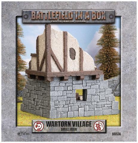 Battlefield in a Box - Wartorn Village - Small Ruin