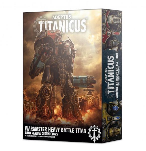 Adeptus Titanicus Warmaster Heavy Battle Titan