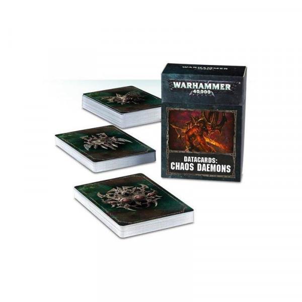 Warhammer 40.000 Datakarten - Chaos Daemons