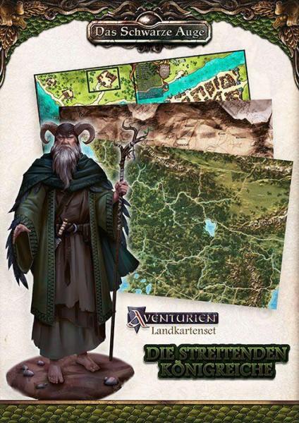 DSA 5 - Landkartenset Die Streitenden Königreiche