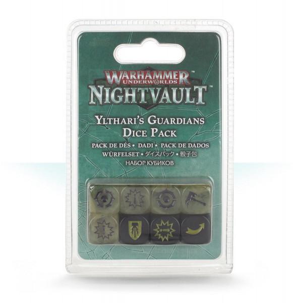 Warhammer Underworld: Nightvault: - Yltharis Guardians Dice Pack