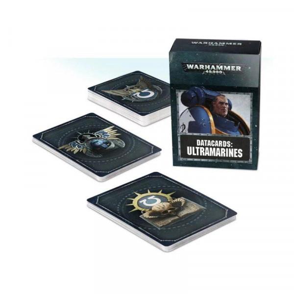 Warhammer 40.000 Datakarten - Ultramarines