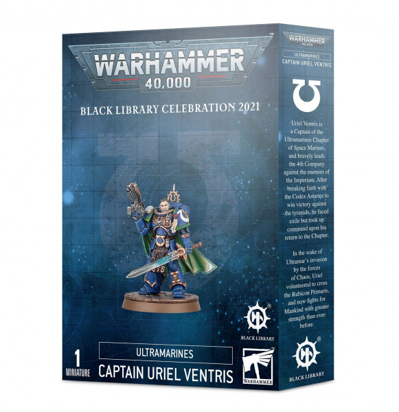 Ultramarine Captain Uriel Ventris