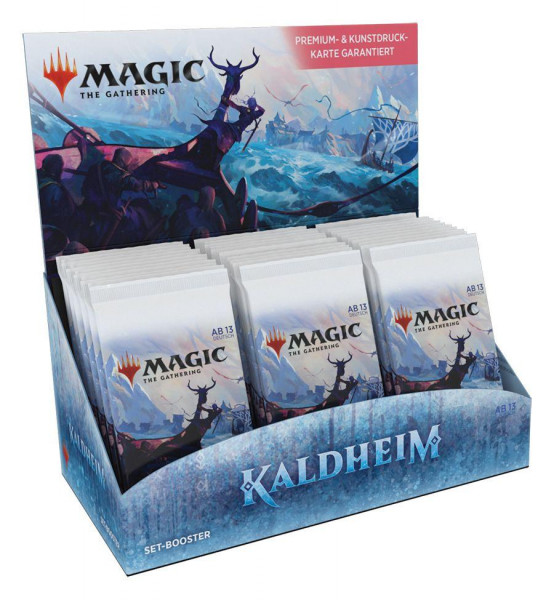 Magic: Kaldheim Set Booster Display deutsch
