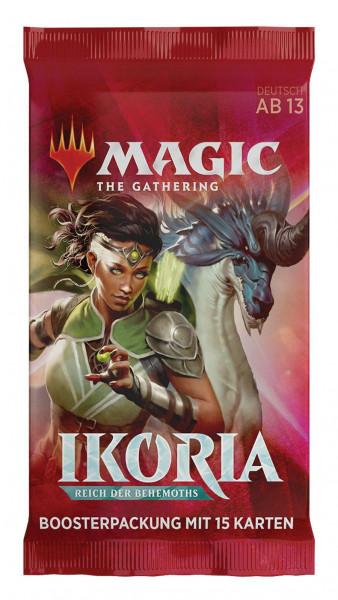 Magic: Ikoria: Reich der Behemoths Booster deutsch
